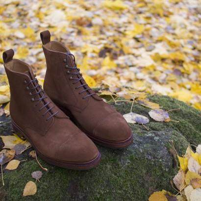 peut on porter des chaussures en veau velours sous la pluie