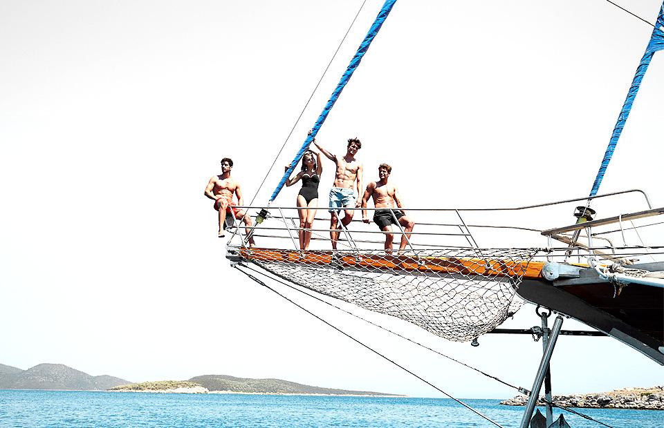 maillot de bain yacht