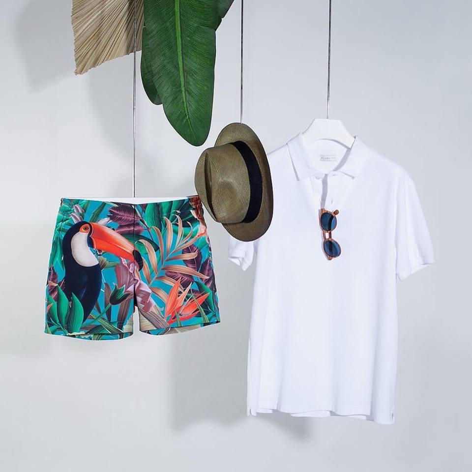 printed swim shorts bluemint maillot de bain homme imprime