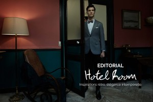 photos editorial hotel room menswear corner